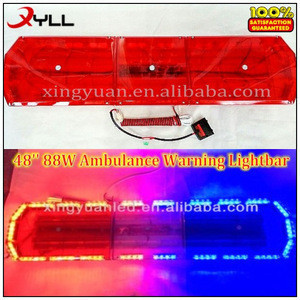 Used LED Security Emergency light bar for Police fire truck ambulance vehicle