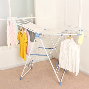 VIVINATURE New Clothes Drying Folding Laundry clothes Rack Organizer Dryer with shoes rack