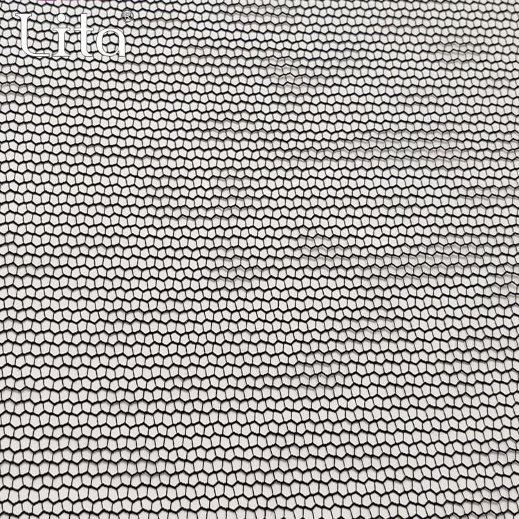 Lita J030270# 100% nylon water wave pattern mesh fabric good quality net fabric
