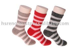Women Angora Sock