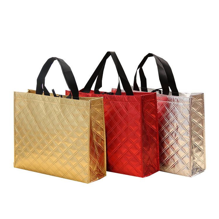 Great Waterproof nonwoven embossing tote Bag