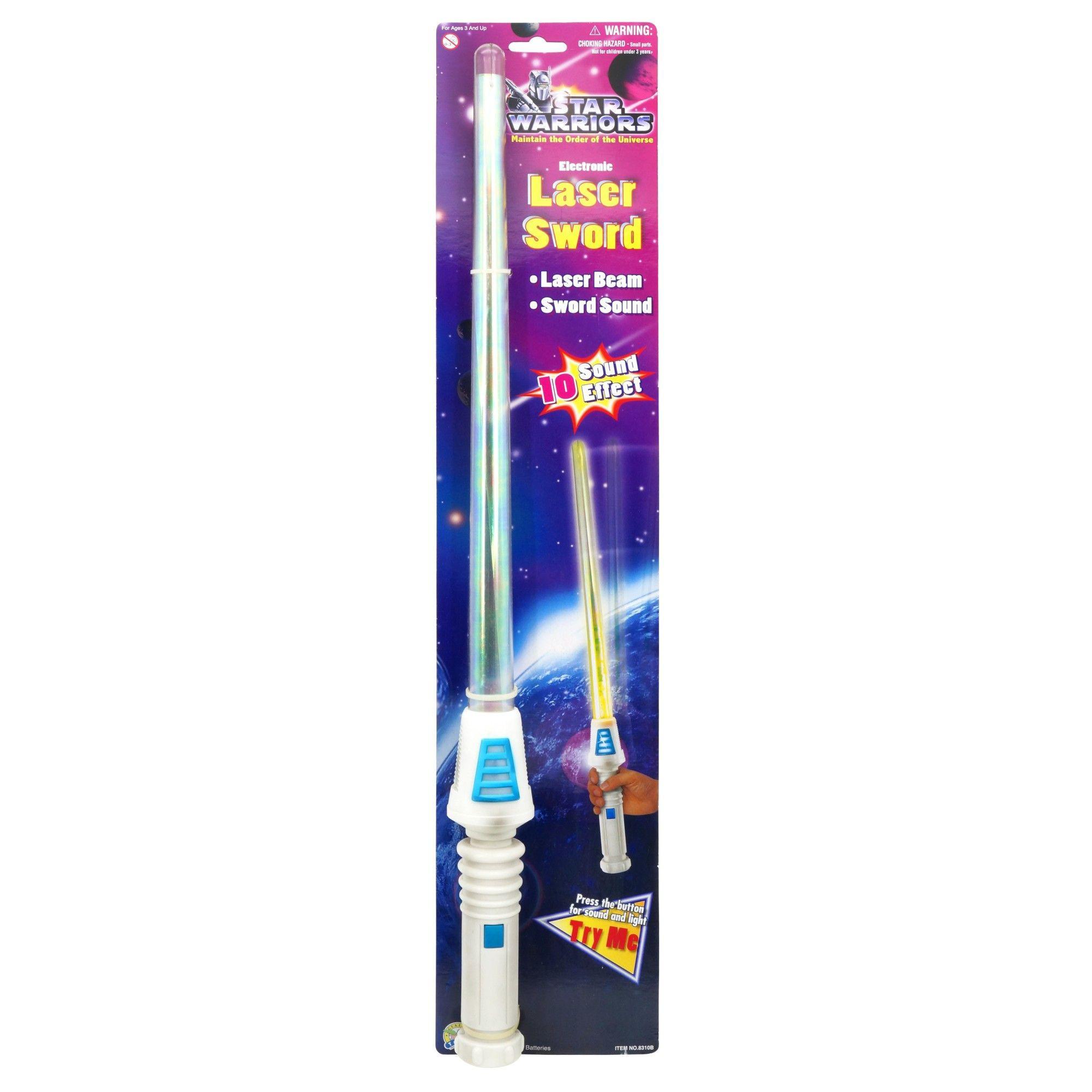 Star Warriors Electronic Laser Sword