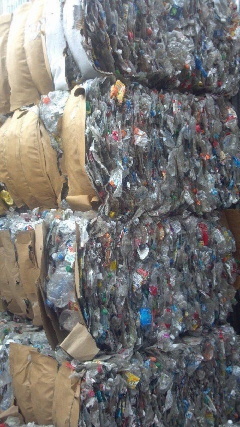 PET bottle scrap,  PET bottles in bales, scrap PET bottles, PET bales scrap