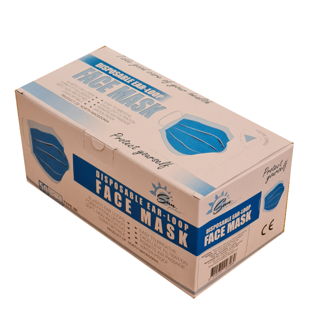 Import Medical 3ply Face Mask from Macedonia