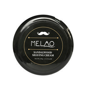 150g Sandalwood Shaving Cream Natural Organic Creams Private Label Custom Logo with Low MOQ