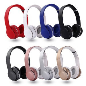 2019 super stereo headphone BT headband music headset FM and support SD card with mic for mobile xiaomi iphone sumsamg tablet