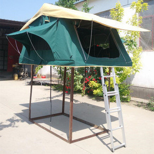 Ad sun car shelter roof top tent for 2 person