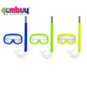 Best selling outdoor set toys summer diving glasses set swimming snorkel