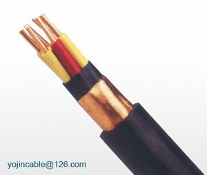 Copper conductor PVC insulated control cable