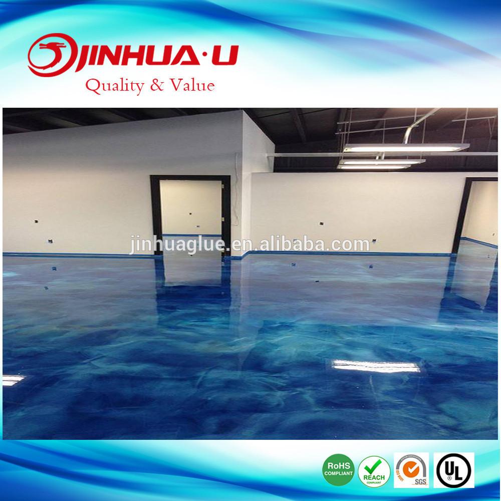 Epoxy Resin Coating for Anti Dust Concrete Epoxy Floor Paint and Metallic Floor