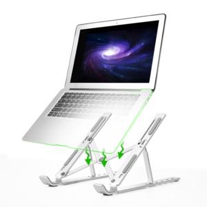 Ergonomic Flexible Folding Height Adjustable Aluminum Desktop Laptop Notebook Stand