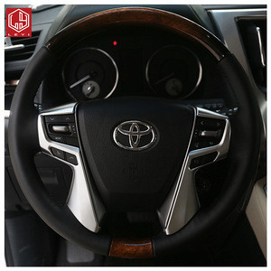 Factory wholesale Car interior accessories ABS Car steering wheel decorative sequins For Alphard/vellfire
