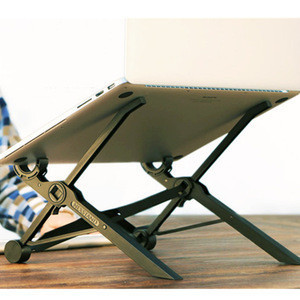 Foldable Nexstand K2 Reinforced Laptop Notebook Riser Stand Adjustable Travel Laptop Stand Desk Portable Tablet Stand