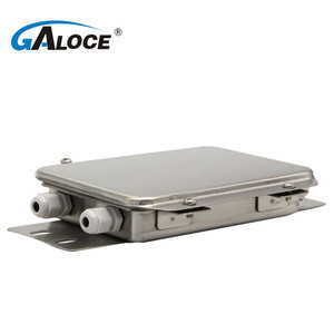 GJB201 waterproof 4 channels junction box load cell stainless