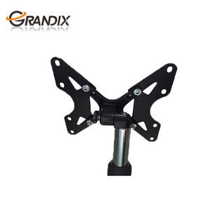 """Height Adjustable Mount for Flat Panel LED LCD Plasma Screen 13"""" to 27"""" , TV Display Portable Floor TV Stand"""