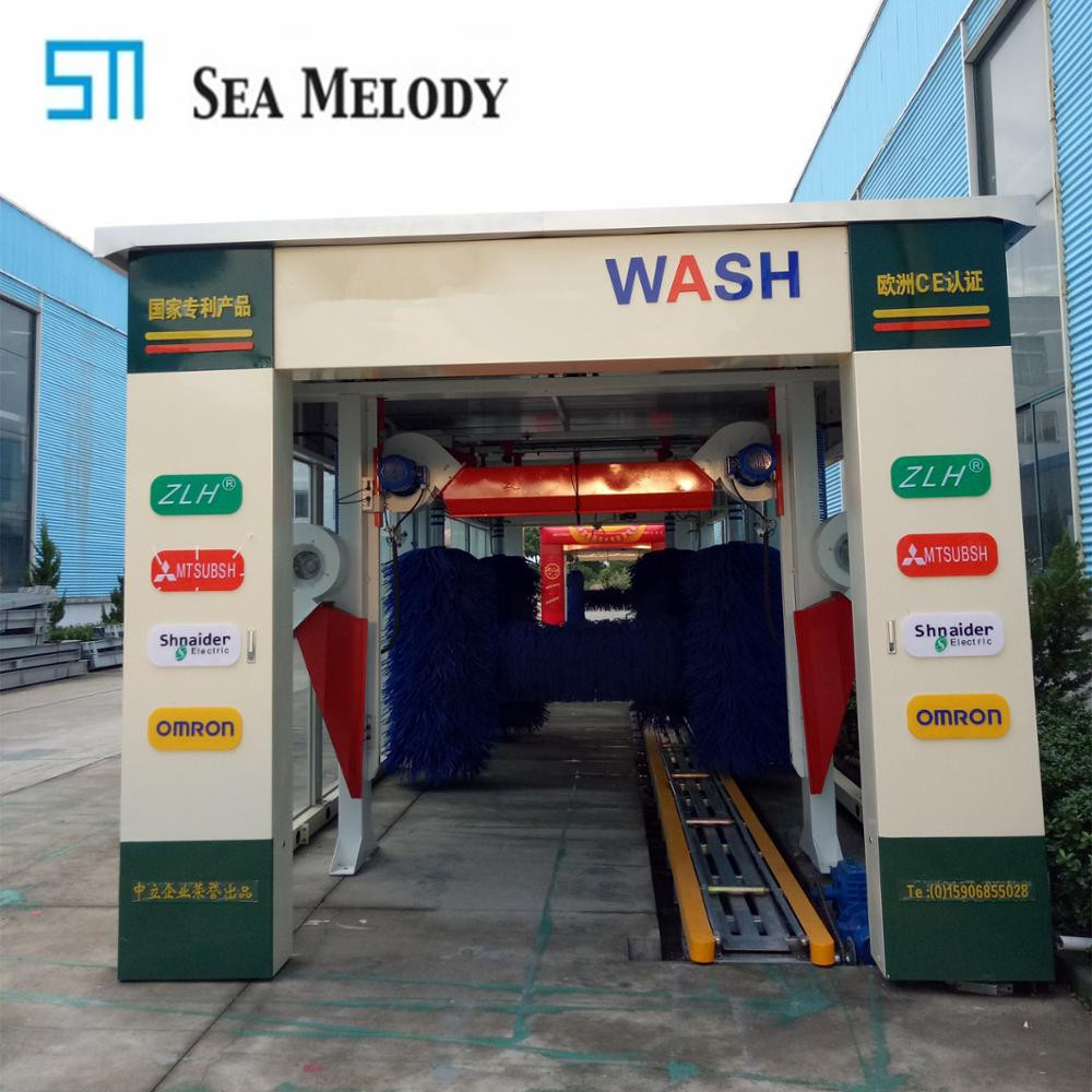 High efficiency service stations tunnel car wash equipment