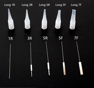 High Quality Disposable Small Size Plastic Permanent Makeup Needle Tip