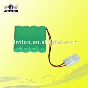 Jintion Rechargeable 4.8V Battery Ni-MH AA 1800mAh