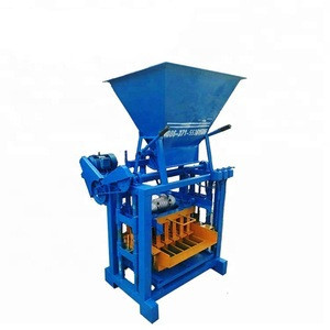 Most cost effective concrete block making machine for hollow brick and paver