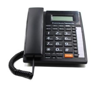 New Design desktop home office Corded Landline Telephone Caller ID Phone