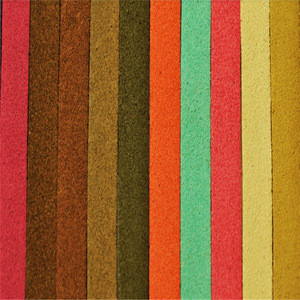 New products online shop china PU Microfiber suede Leather for shoe insole