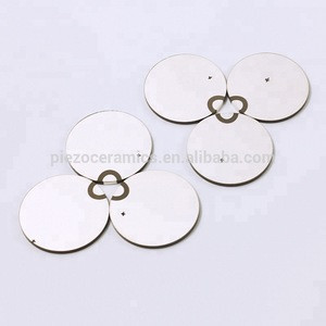 Piezo Quartz Crystal Piezoelectric Ceramic for Ultrasonic Doppler Fetal Monitor