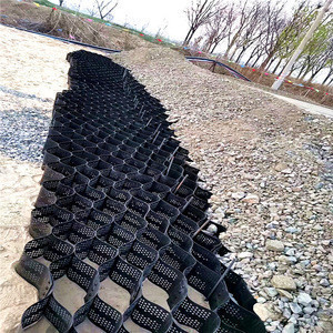 Plastic driveway paver paddock lawn honeycomb hdpe perforated geocell for parking