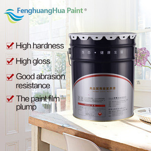 PU high gloss wooden paint furniture wood coating and paint