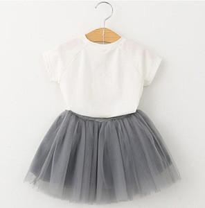 Se002 Kids Clothing Sets T-shirt+puffy Skirt Set Girls Skirt Sets | Se002  Kids Clothing Sets T-shirt+puffy Skirt Set Girls Skirt Sets Suppliers &  Manufacturers | TradeWheel