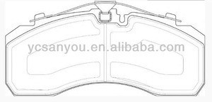 SEMI-METALLIC Industrial TRUCK DISC BRAKE 006 420 11 20 FOR Mercedes Benz
