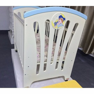 Simple Wood Baby Crib