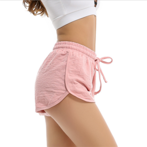 Spring and Summer New Sports Loose Pants High Elastic Women Sexy Yoga Shorts