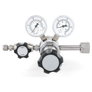 Stainless steel specialty gas lab regulator for high purity application