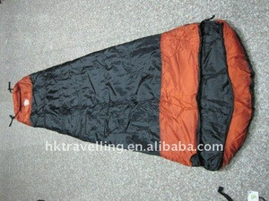 Stock sleeping bag