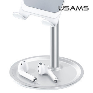USAMS ZJ048 New Cellphone Metal Stand Desktop Phone Holder Tablet Stand Colorful Aluminum Stand Mobile