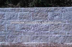 White Mint Brick Wall