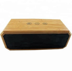 Wireless portable speaker bluetooths wood speaker stereo subwoofer