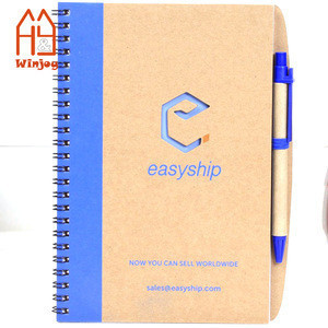 With company logo School Exercise Hard Cover Note Book A5 wholesale