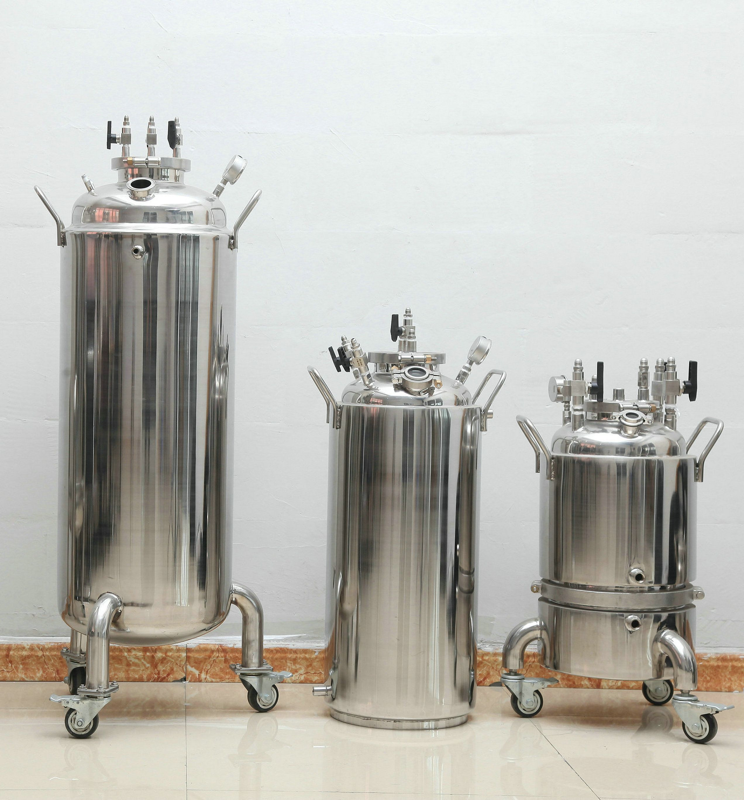 Stainless  steel   sanitary  BHO  extractor  dairy   food  grade   tank