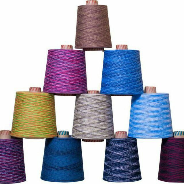 100% Cotton dyed yarns