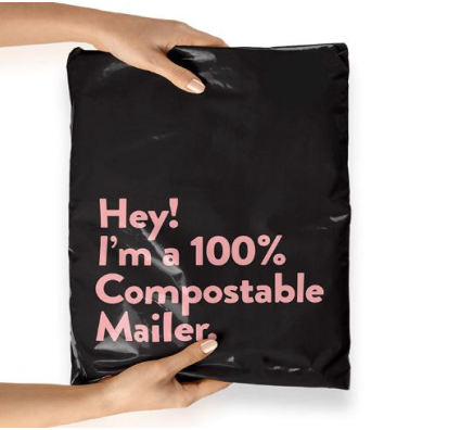 PLA Mailer Bag-100% Biodegradable and Compostable