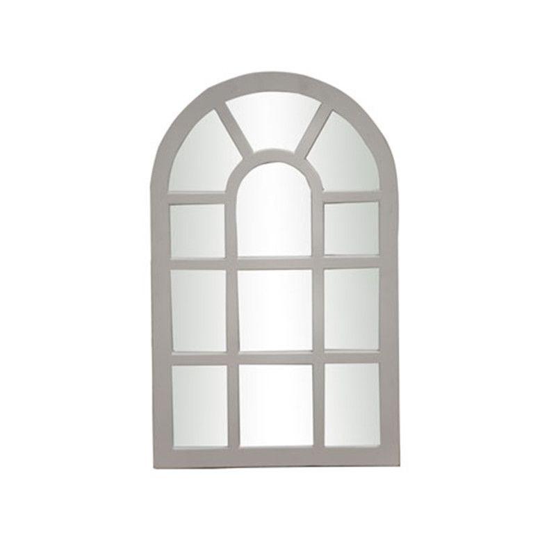 Framed Wooden Window door Mirror