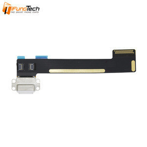 100% Tested Original Mobile Phone Parts USB Dock Port Charging Flex Cable for iPad Mini 4 Charger Flex Charging Port Flex White