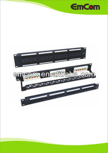24 port Cat.6 UTP Patch Panel, PCB type