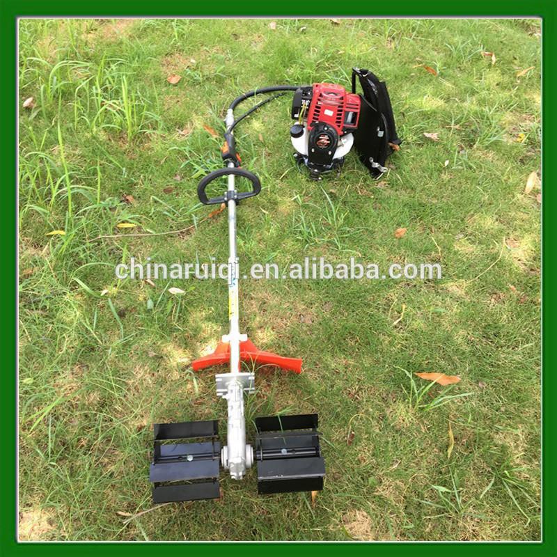 4 stroke gasoline mini power weeder tiller GX35 engine weeder head