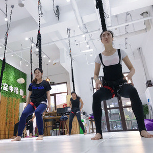 Aerial Yoga Fitness Bungee Flying Jumping Running Dance Workout Cord