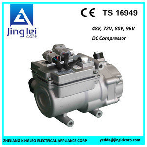Air conditioning system 48V, low power consumption, dc air conditioning compressor. cooling system.