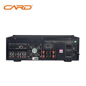 Amplifier professional with sound mixer + ktv karaoke player