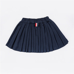 Best selling items boutique pleated asian short mini pink school uniform girl skirt for kid child