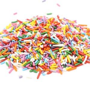 Cake Decoration Ingredients Sweet Sprinkle Candy Christmas Sprinkle Jimmies